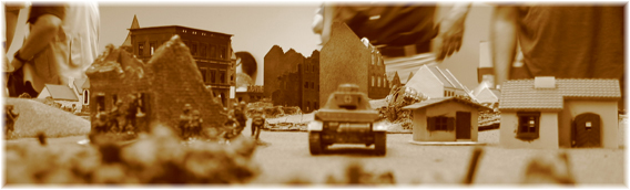 German 3rd Platoon, Company B coordinates their advance into the town with a Pz.IV